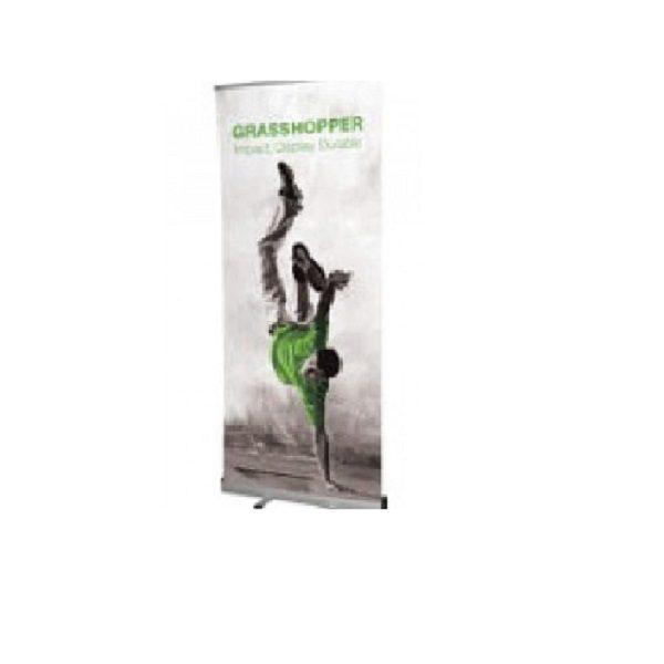Grasshopper Banner Stand