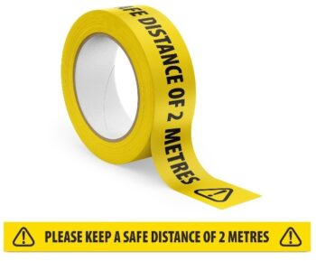 2m distance tape