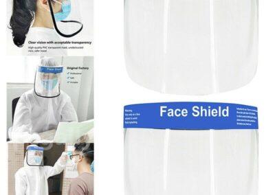Face shield instiu