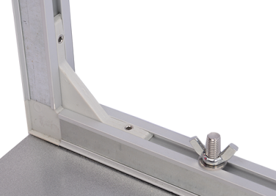Magnetic freestanding frames