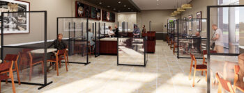 Hospitality & restaurant partitions