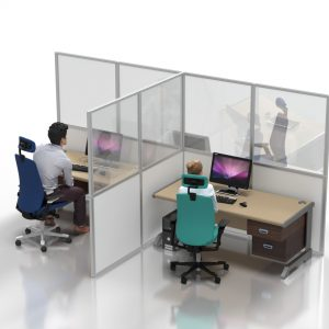 T3 Social Distancing Solutions Desk dividers