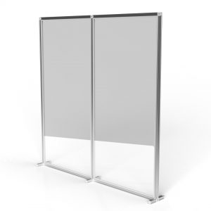 T3 2x2 Arcylic freestanding wall