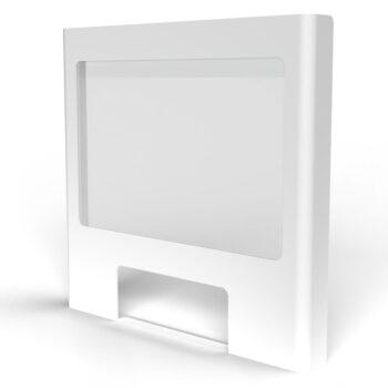 Screen white frame