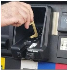 Key safe cash machine