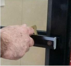 Key safe opening bolt