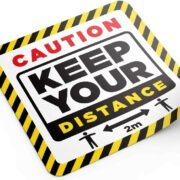 keep your distance floor graphic 300