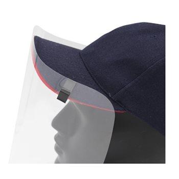 baseball hat with visor close view