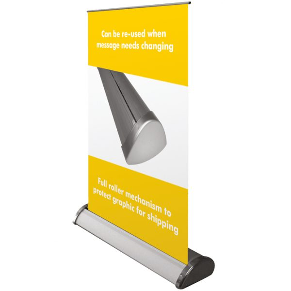 Desktop banner stands